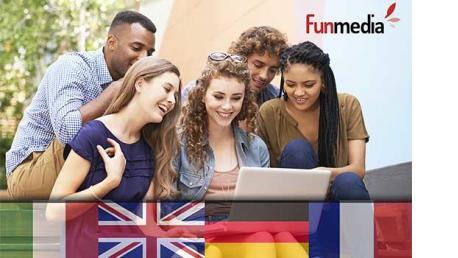 Curso online de idiomas a elegir entre: Inglés, Alemán, Francés o Italiano