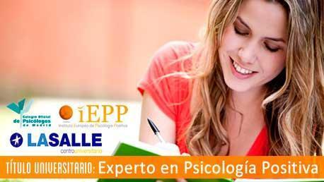 Experto en Psicología Positiva - Título Universitario