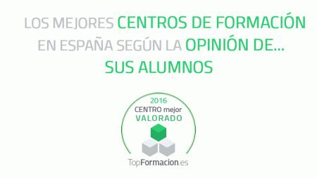 Mejores centros de formación en España 2016