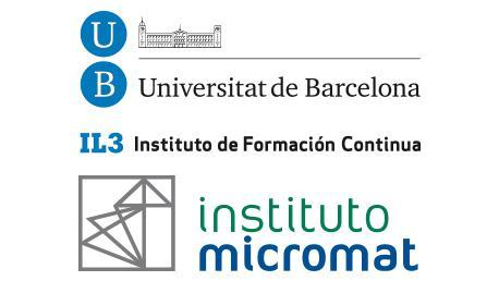 Universidad de Barcelona - Instituto Micromat