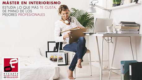 Master profesional en decoraci n interiorismo y gesti n de - Donde estudiar interiorismo ...