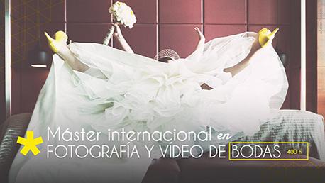 Master Internacional en Fotografía y Vídeo de Bodas