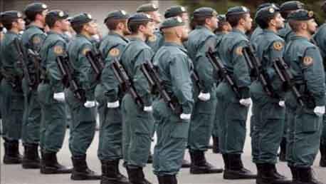 Oposiciones Guardia Civil en Zaragoza