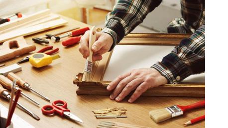 Curso Profesional de Acabado de Carpintería y Mueble 1 Módulo