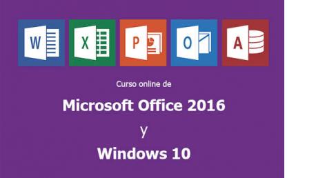 Curso online de Microsoft Office 2016 y Windows 10