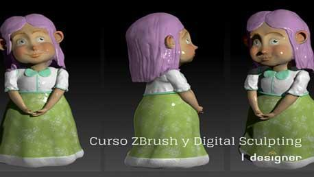 Curso de ZBrush y Digital Sculping