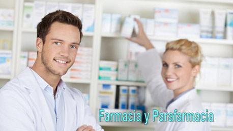 Curso Auxiliar de Farmacia y Parafarmacia