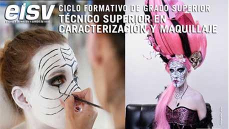 Curso Técnico Superior en Caracterización y Maquillaje Profesional