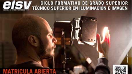 Curso Técnico Superior en Imagen: Iluminación, Captación y Tratamiento de la Imagen