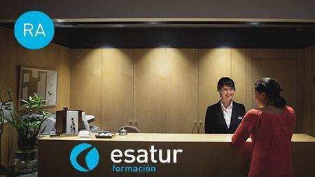 Curso Certificado de Profesionalidad de Recepción en Alojamientos (Recepcionista de Hotel) - RA