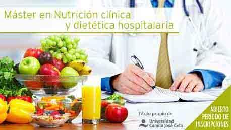 Máster Nutrición Clínica y Dietética Hospitalaria