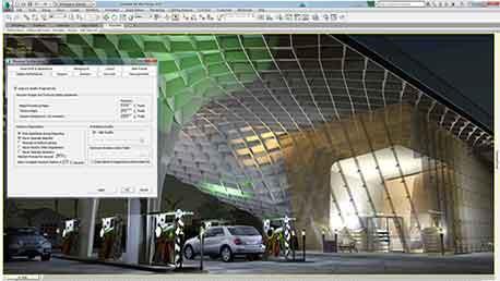 Curso 3ds max 2015 para arquitectura semipresencial en for Aulas web arquitectura
