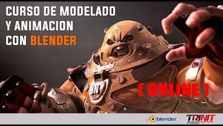 Curso Online de Modelado, Texturizado y Animación con Blender