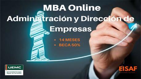 MBA Online en Administración y Dirección de Empresas