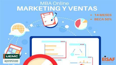 MBA Online Especialidad en Marketing y Ventas