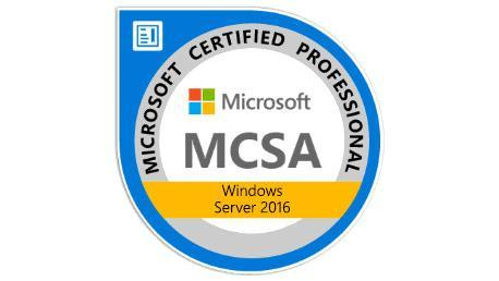 Curso MCSA Microsoft Windows Server 2016
