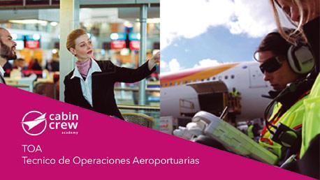 Curso de Técnico de Operaciones Aeroportuarias TOA, Azafatas/os de Tierra y Personal de Pista y Handling