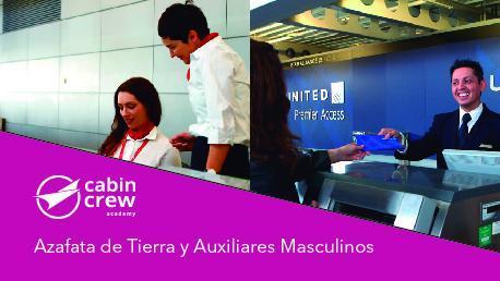 Curso de Azafatas de Tierra y Auxiliares Masculinos en Tierra para Aeropuertos, Atención al pasajero, (TOA)