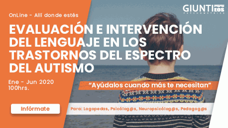 Curso Evaluación e Intervención del Lenguaje en los Trastornos del Espectro del Autismo