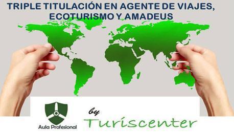 Curso Técnico Superior en Agente de Viajes, Ecoturismo y Amadeus Oficial