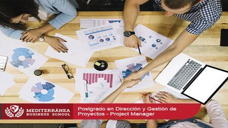 Postgrado en Dirección y Gestión de Proyectos - Project Manager