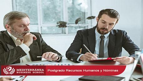Postgrado en Gestión de Recursos Humanos y Nóminas