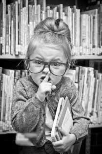 ¿Quién dijo que a la biblioteca sólo se va a estudiar?
