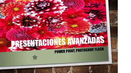 Curso online de Presentaciones avanzadas con Powerpoint-Photoshop-Flash