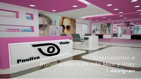 Curso de Interiorismo e Infoarquitectura 3DMAX Y VRAY