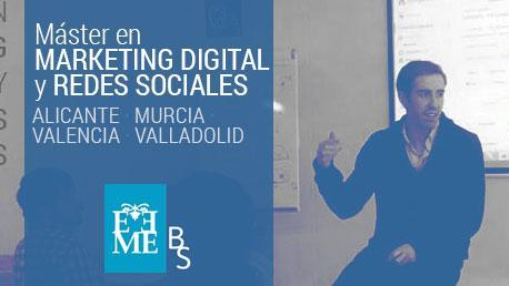 Máster en Marketing Digital y Redes Sociales