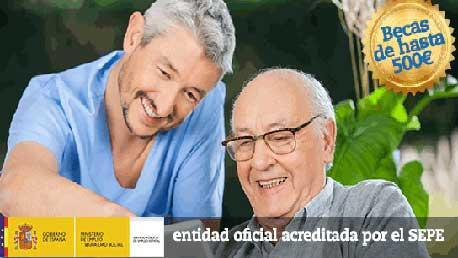 Curso Certificado de Profesionalidad en Atención Sociosanitaria a Personas Dependientes en Instituciones Sociales